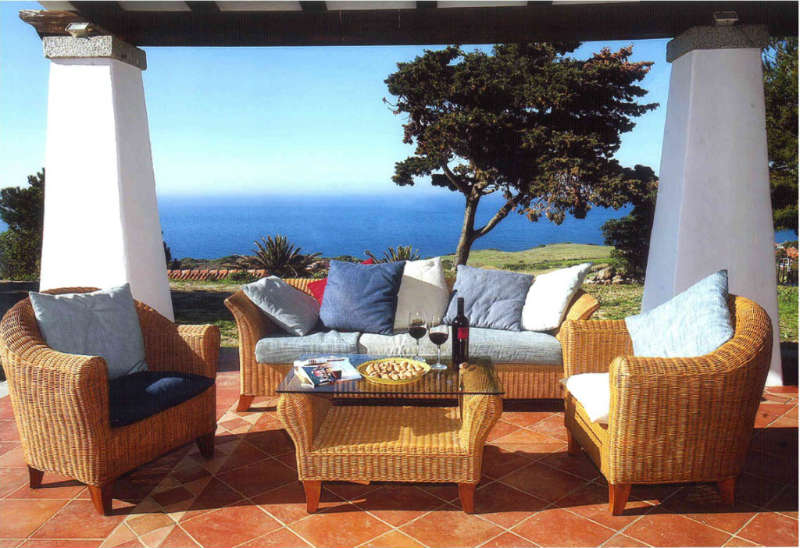 Castelsardo, unique property, fantastic sea view villa for sale in Sardinia