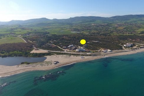 house for sale in Sardinia walking distance from the beach