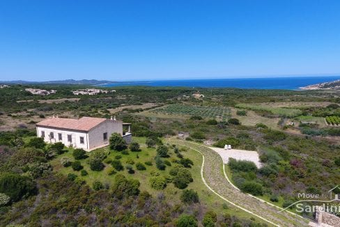 house for sale in Sardinia near one of the most beautiful beach