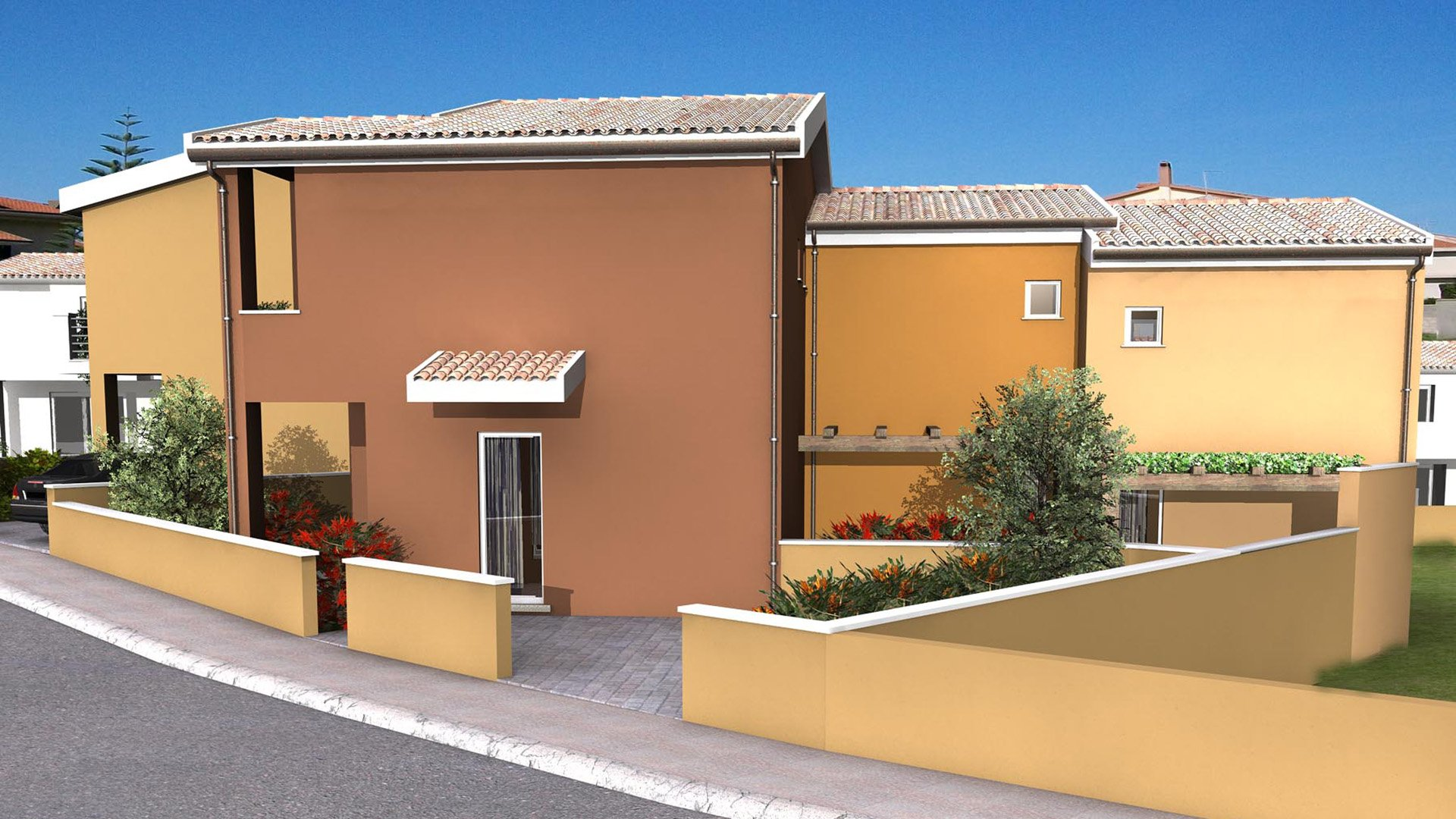 New property for sale in Sardinia? Cheap terraced houses in