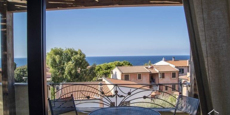 sea view apartment for sale in Valledoria-1