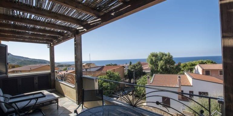 sea view apartment for sale in Valledoria-3