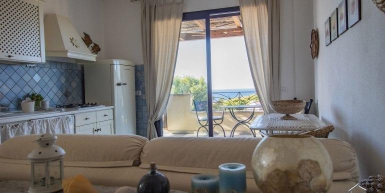 sea view apartment for sale in Valledoria-7