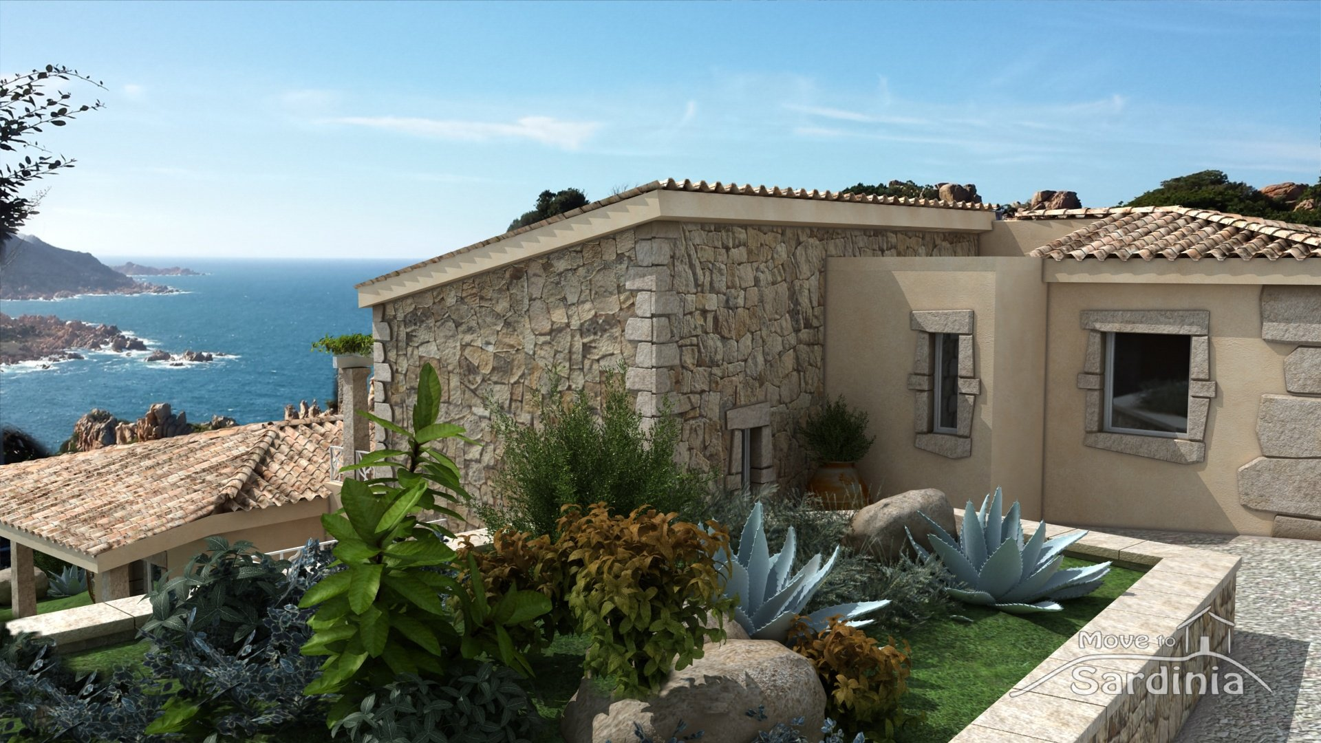 Costa Paradiso, Luxury Villa for sale in Sardinia, stunning sea view and private pool