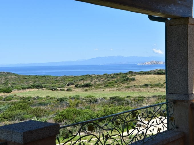 Stunning sea view house for sale in Sardinia