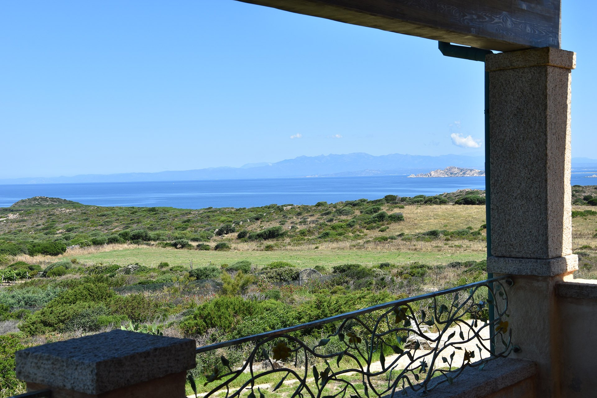 Breathtaking sea view house for sale in Sardinia, Monti Russo beach nearby