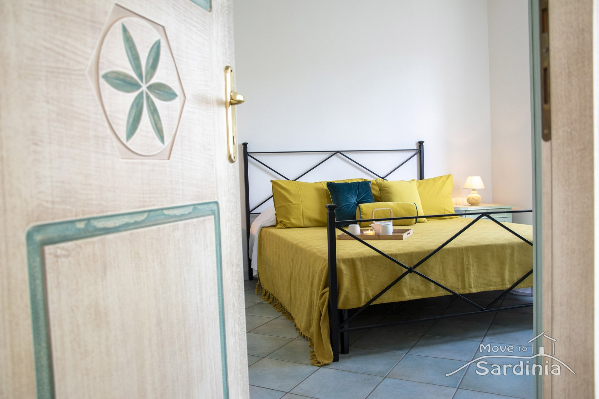 Apartment for sale in Badesi, two bedrooms, comfortable external terrace