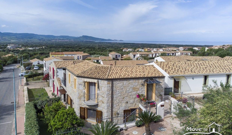 Badesi Villa for sale in Sardinia BDI-J-60