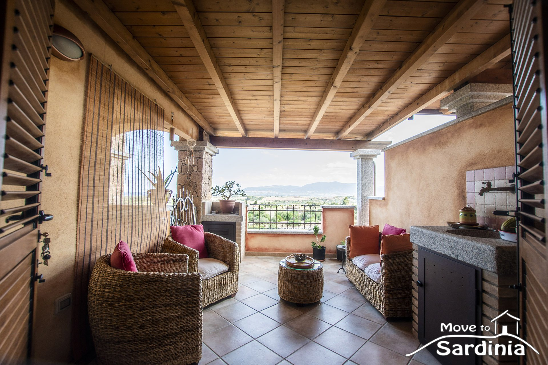 Brand new apartment for sale in Valledoria, beautiful sea view.