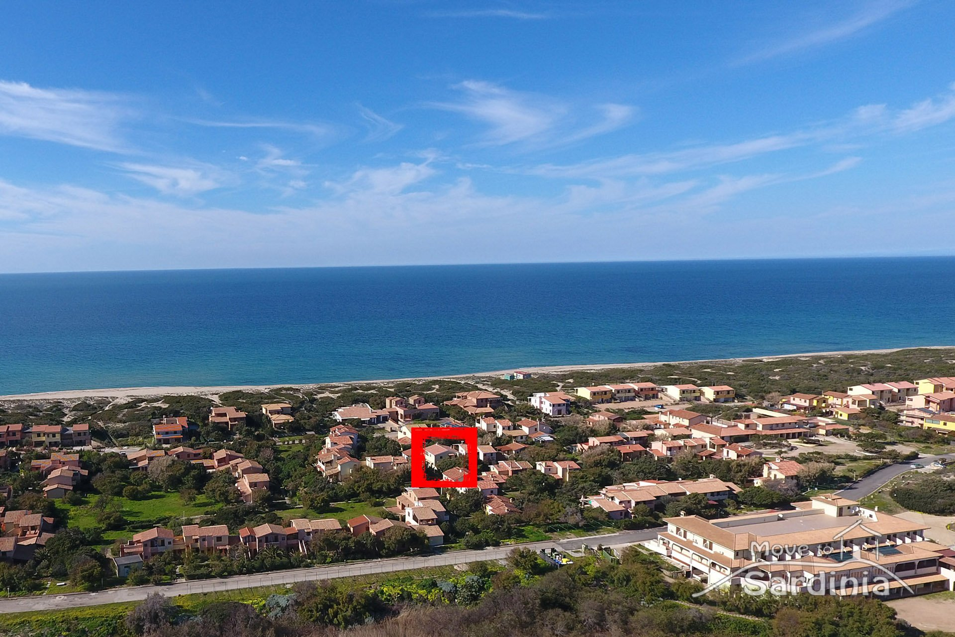 Apartment for sale in Badesi, a few meters from the beach and with private parking