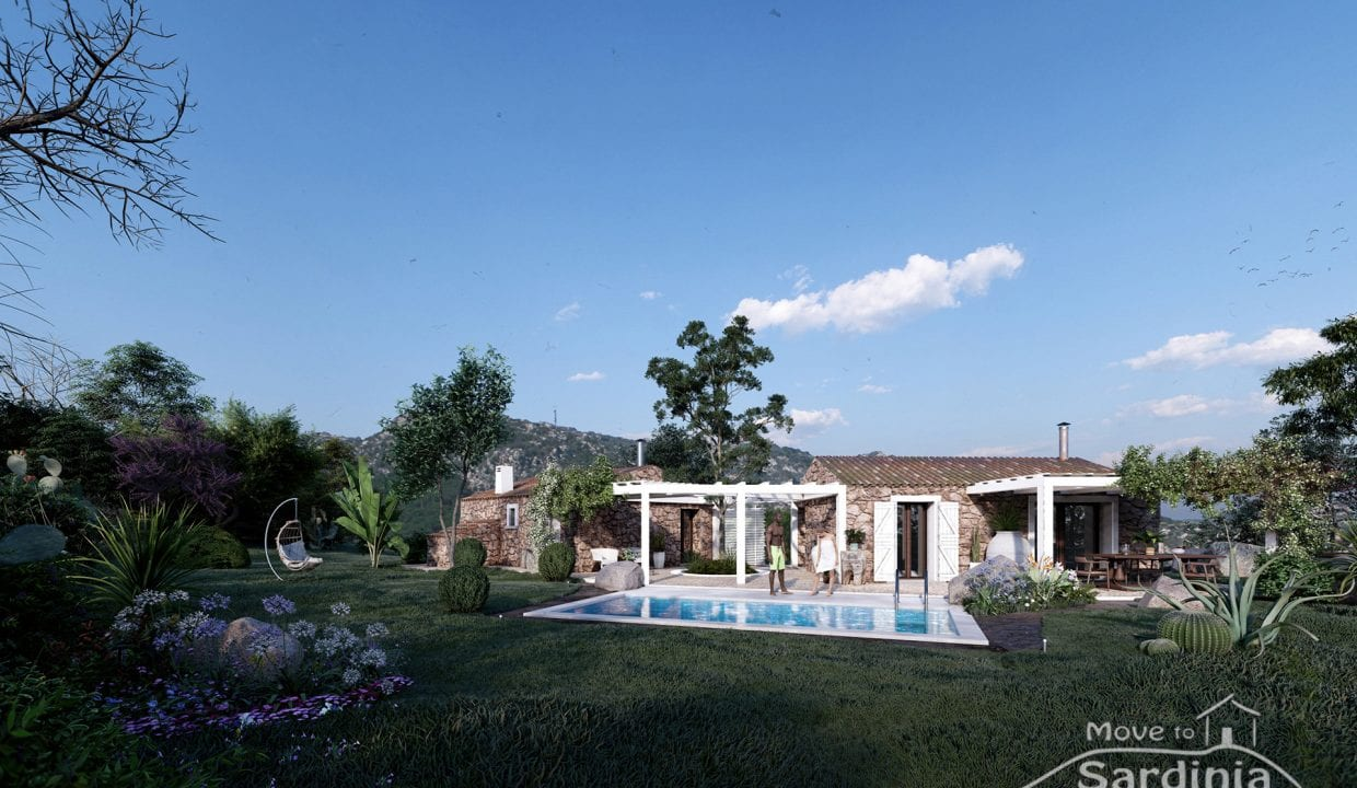 Country house for sale in Sardinia TR-CU-41