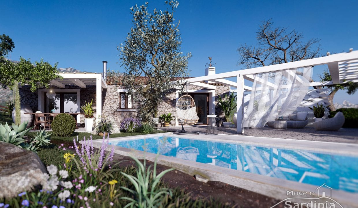 Country house for sale in Sardinia TR-CU-45