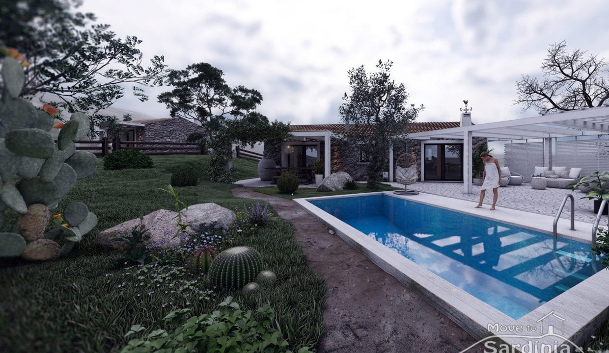 Country house for sale in Sardinia TR-CU-47