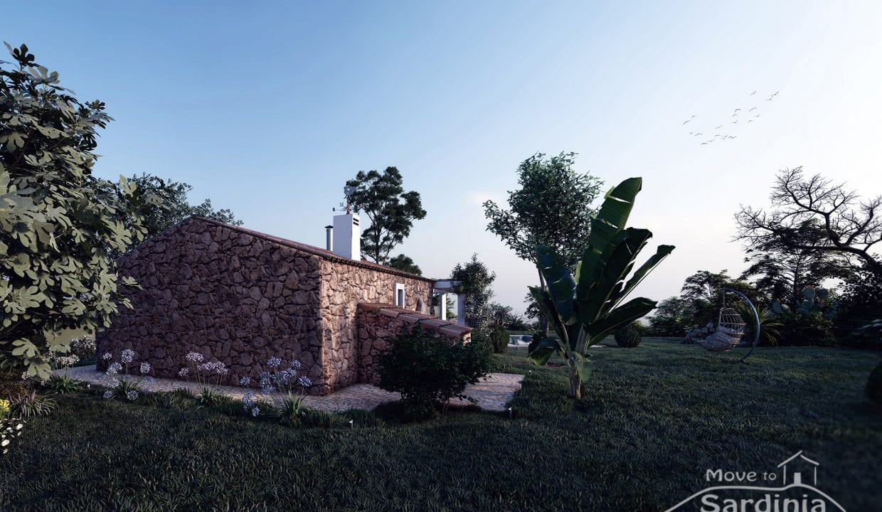 Country house for sale in Sardinia TR-CU-49