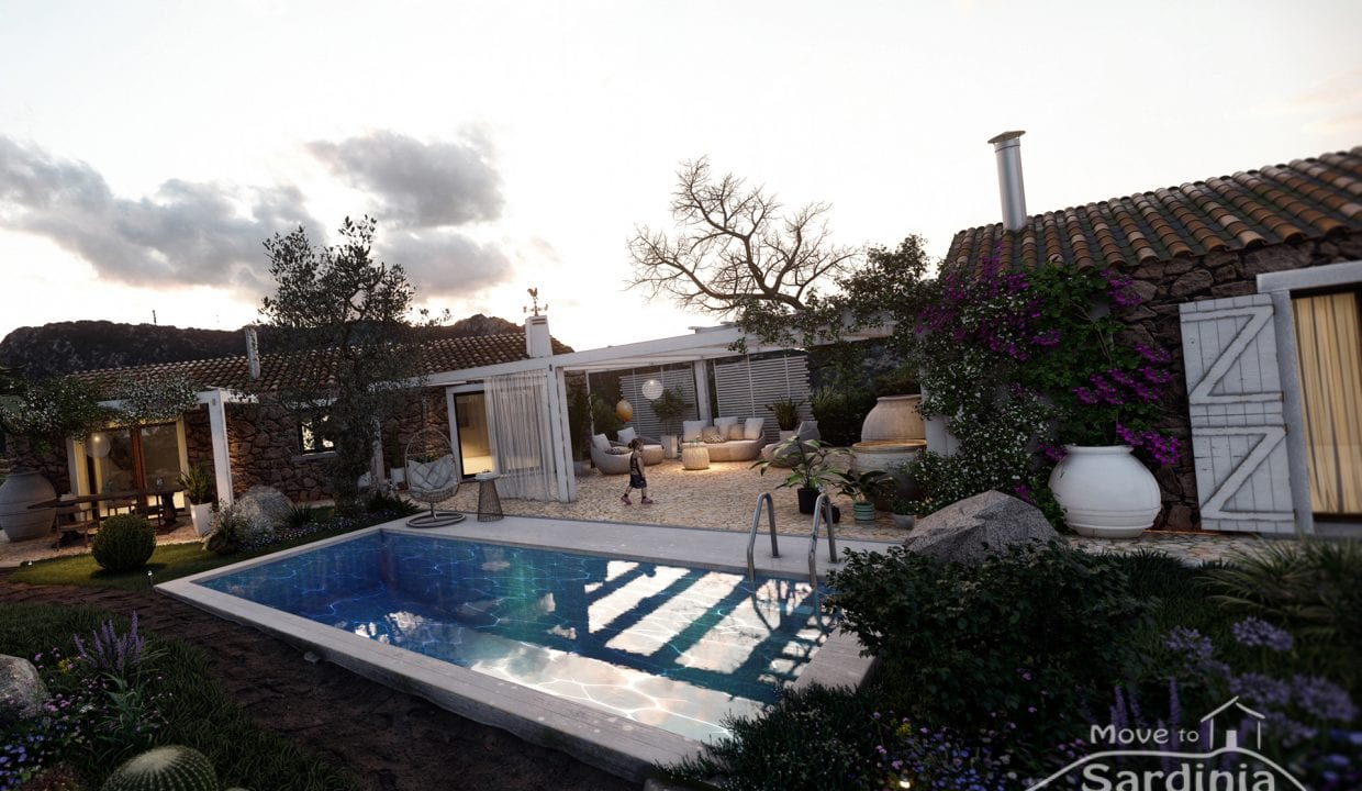 Country house for sale in Sardinia TR-CU-50