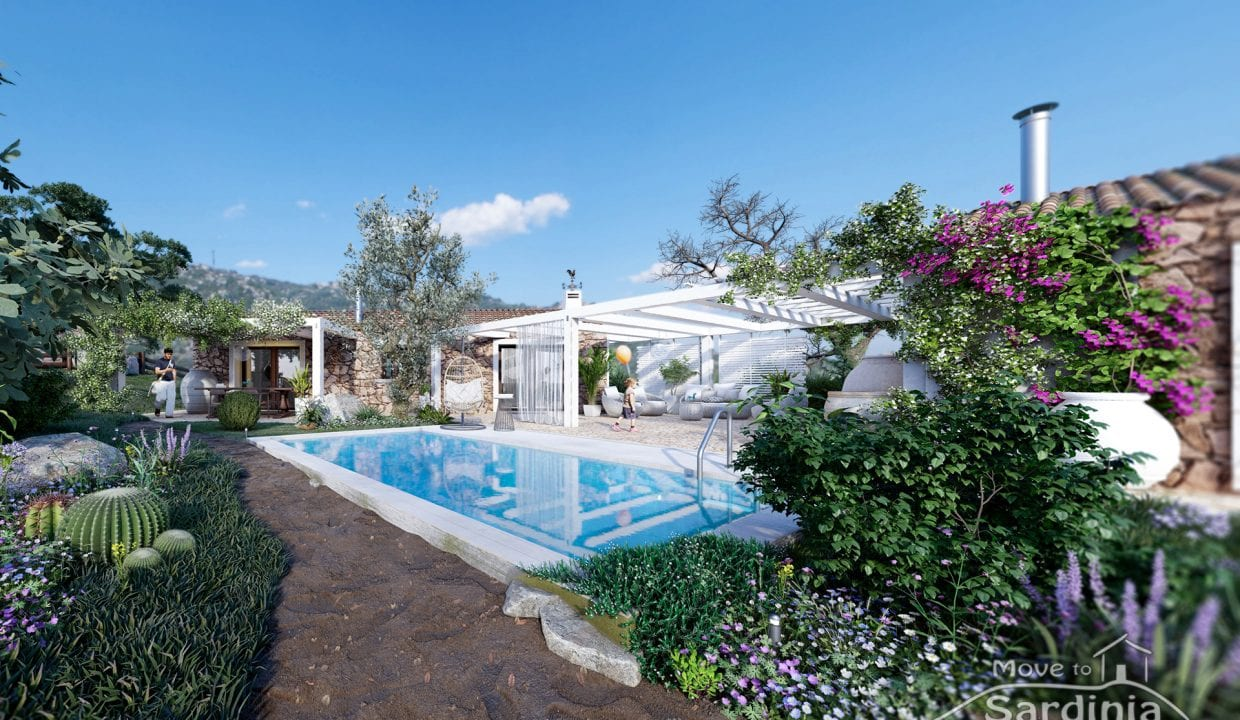 Country house for sale in Sardinia TR-CU-51