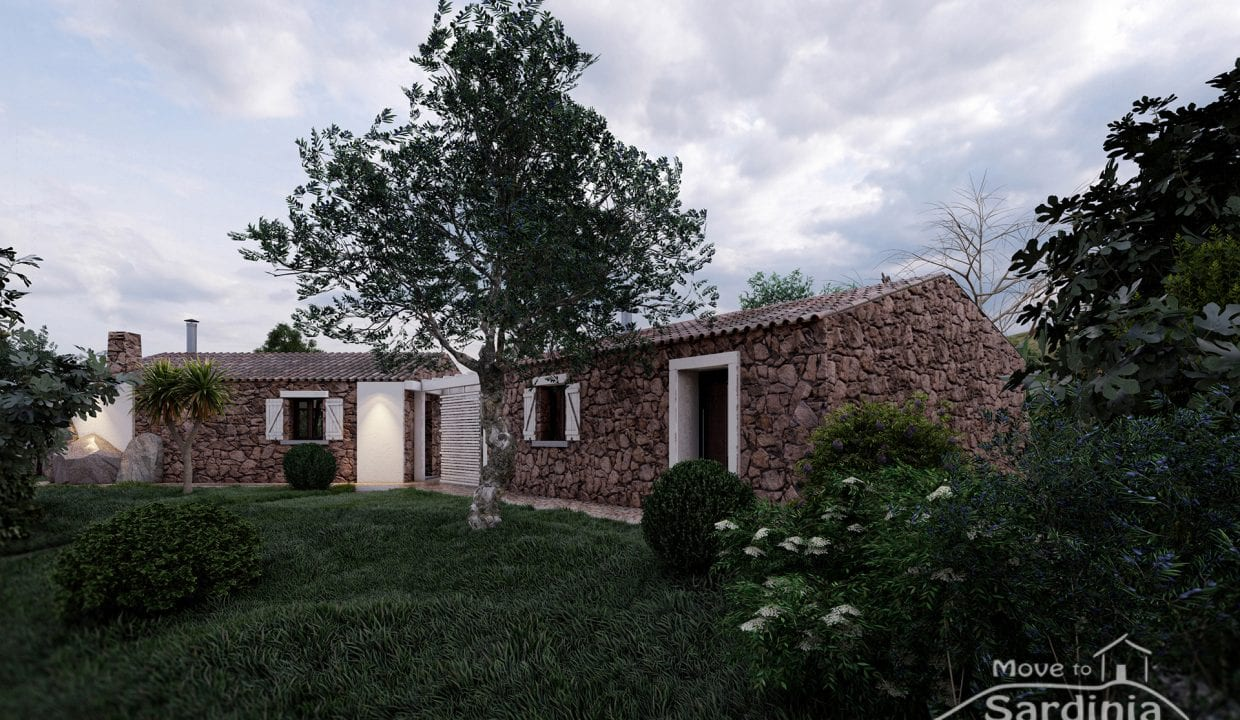 Country house for sale in Sardinia TR-CU-52
