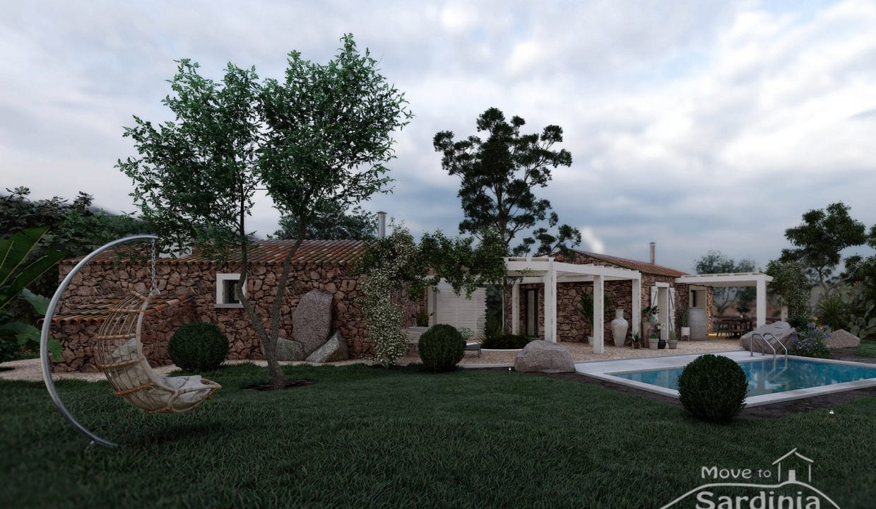 Country house for sale in Sardinia TR-CU-53