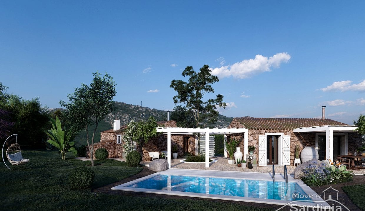 Country house for sale in Sardinia TR-CU-60