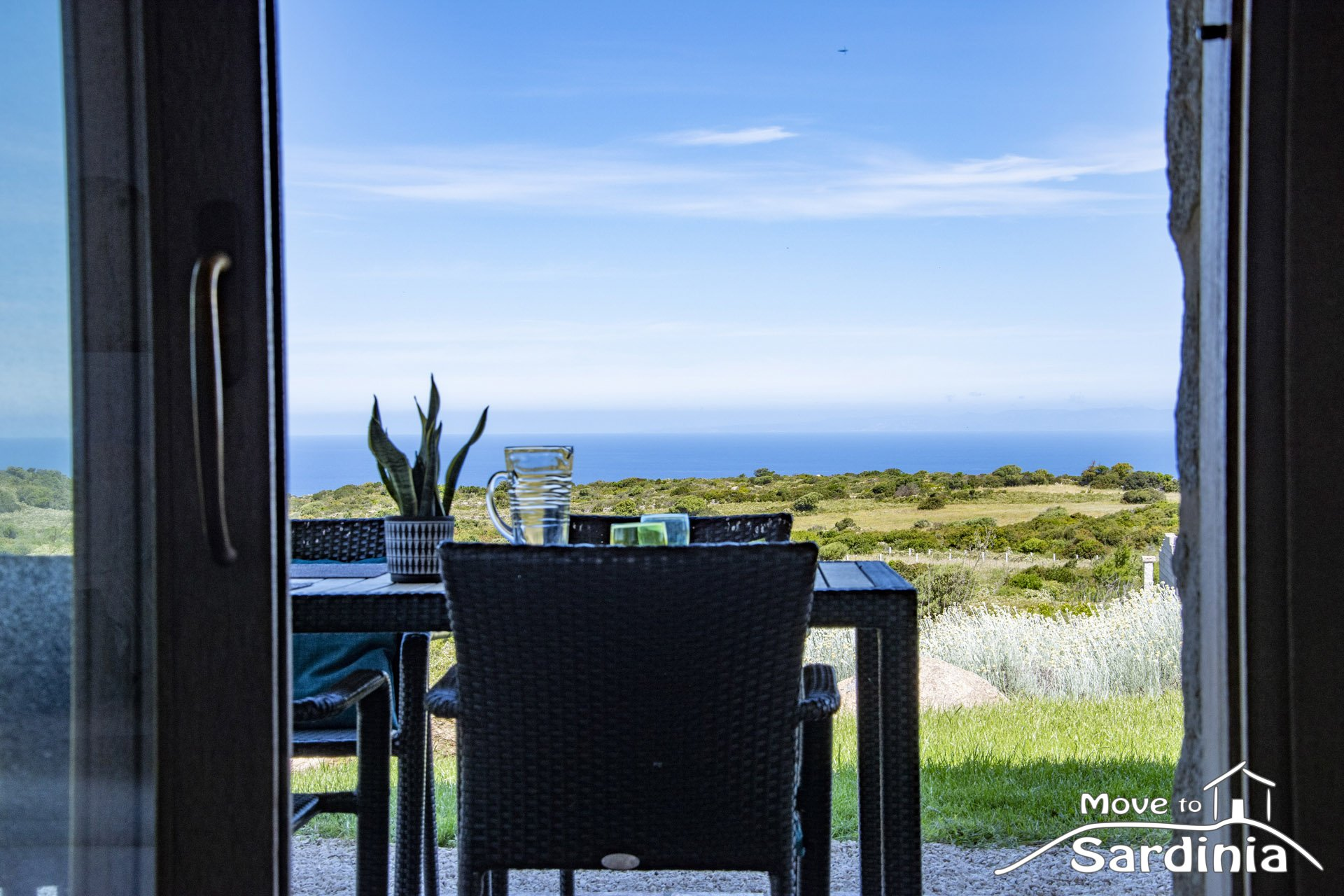 Country house for sale in Sardinia, amazing sea view in a unique location.